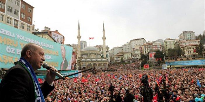 Cumhurbaşkanı Erdoğan'dan yerel seçim öncesi istihdam hamlesi