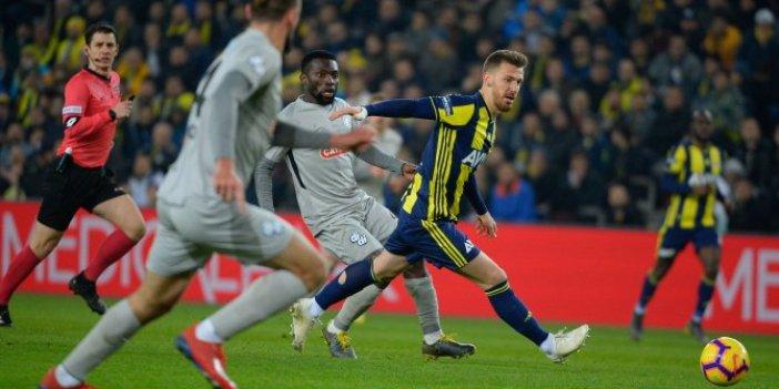 Fenerbahçe kritik maçta üç puanı aldı