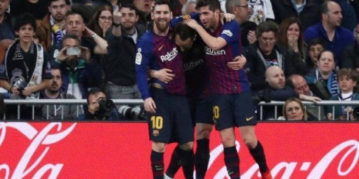 Dev karşılaşmada kazanan Barcelona