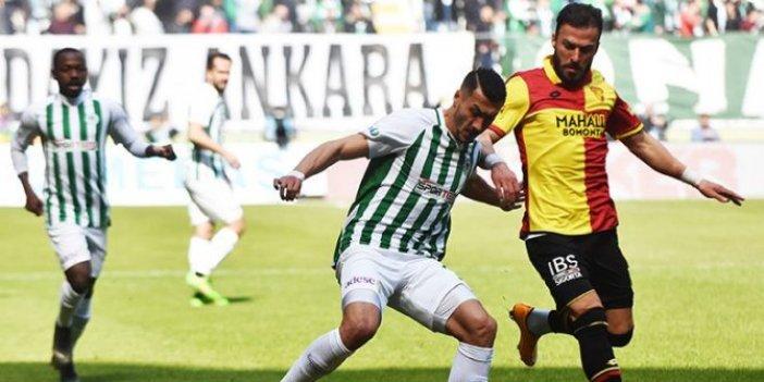 Konya'da puanlar paylaşıldı 1-1