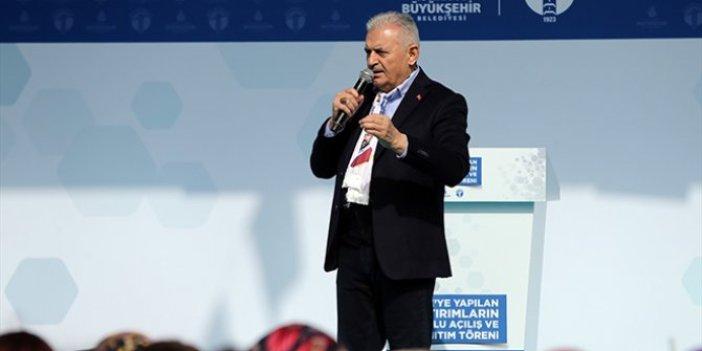 """İmamoğlu'nun ardından Binali Yıldırım da """"Ücretsiz ulaşım"""" dedi"""