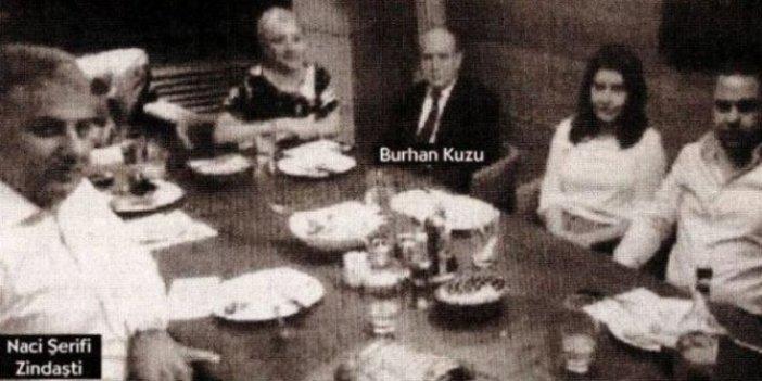 Burhan Kuzu'nun yanındaki şahıstan yazarımıza hakaret