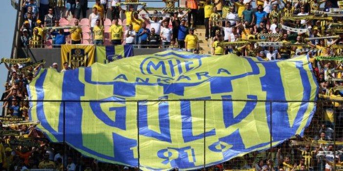 Ankaragücü-Bursaspor maçı ile ilgili TFF'den açıklama