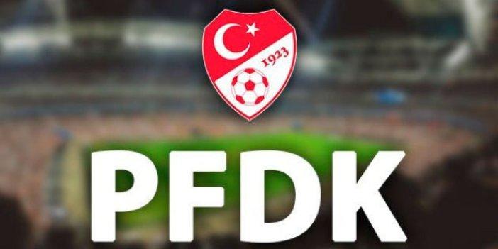 PFDK'dan Mansur Çalar'a ömür boyu men!