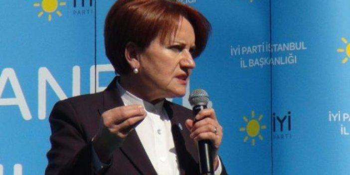 Meral Akşener Fatih'te kadınlara hitap etti