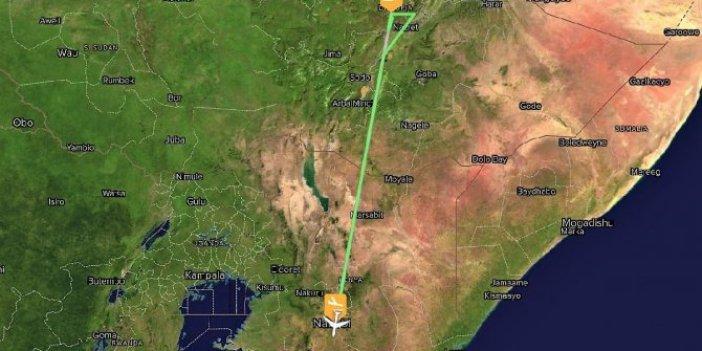 Etiyopya'da yolcu uçağı düştü!