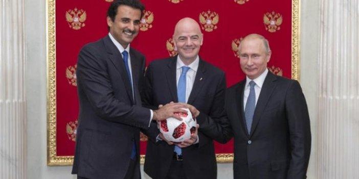 Katar'dan Dünya Kupası için FIFA'ya 880 milyon dolar