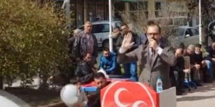 """MHP'li adaydan AKP'li başkana:  """"O paralarda yetim hakkı var"""""""
