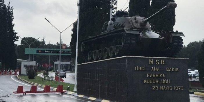 Tank Palet Fabrikası için mitinge izin verilmedi