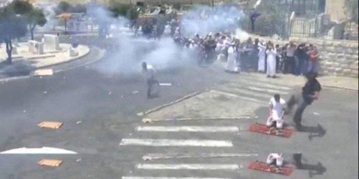 Kudüs'teFilistinlilere saldırı