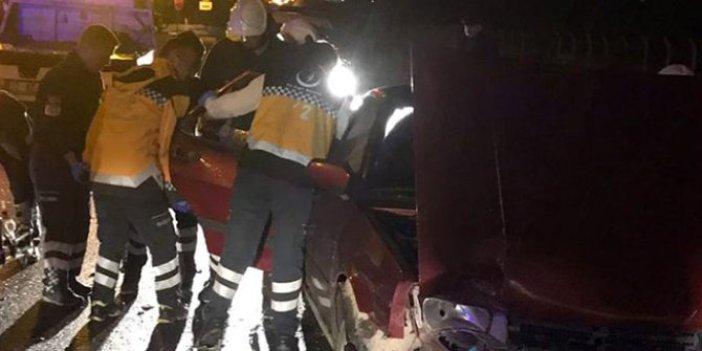 Isparta'da kazada 21 kişi yaralandı