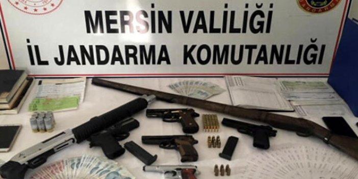 Mersin'de tefeci operasyonu: 7 gözaltı