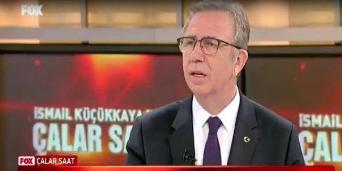 """Mansur Yavaş'tan önemli açıklama: """"Bakanlar Özhaseki'yi zayıf buldu"""""""