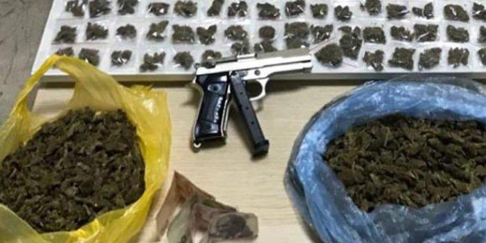 Zeytinburnu'nda uyuşturucu operasyonu