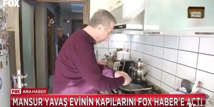 Mansur Yavaş evinin kapılarını açtı: Yumurta kırdı, kahvaltı hazırladı