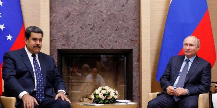 Rusya Venezuela'ya asker gönderdi iddiası