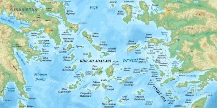 18 adanın ardından kıta sahanlığı da Yunanistan'a bırakıldı