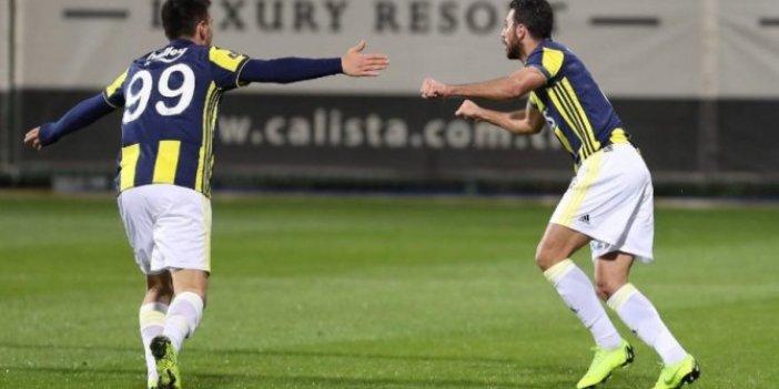 Fenerbahçe'den bol gollü prova