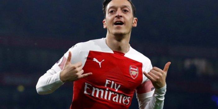 Mesut Özil defterden silindi!