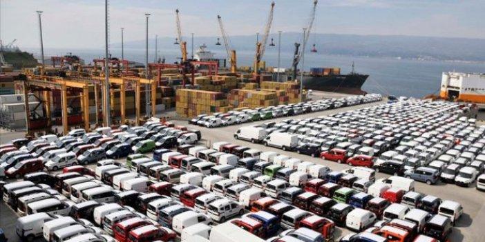 Otomotiv ihracatı azalmaya devam ediyor