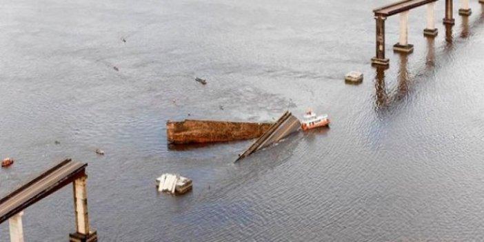 Brezilya'da köprü çöktü