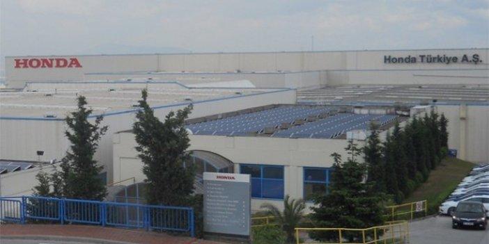 Honda Türkiye'deki üretime son veriyor