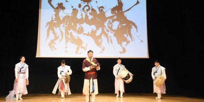 Başkentte Kore müziği ve dans gösterisi
