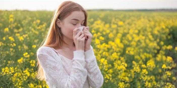 'Bahar alerjisi' olanlar dikkat!