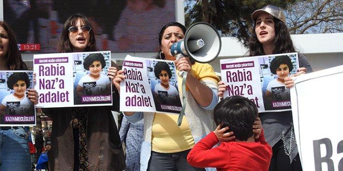 Çorum'da 'Rabia Naz' eylemi
