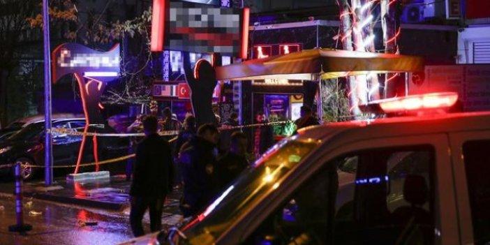 Ankara'da eğlence mekanına kurşun yağdı: 1 yaralı
