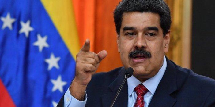 Maduro'dan yaptırım açıklaması: Bize güç veriyor