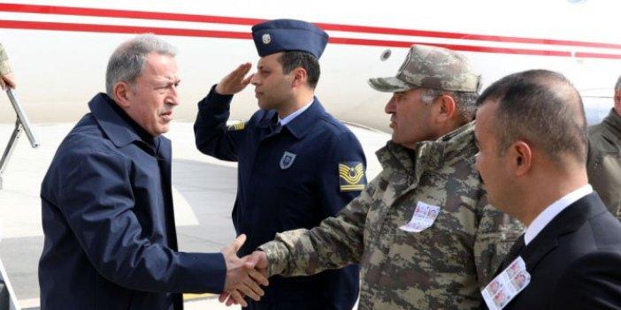 Bakan Akar 'dan sınır birliklerine denetleme