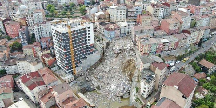 Kağıthane'de yıkım tamamlandı
