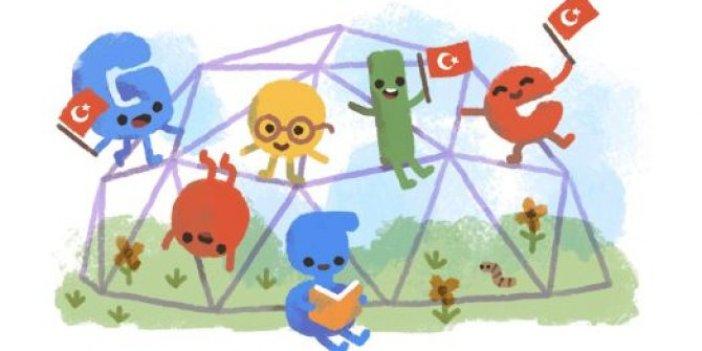 23 Nisan Google'da Doodle oldu! Google'ın 23 Nisan doodle nasıl?