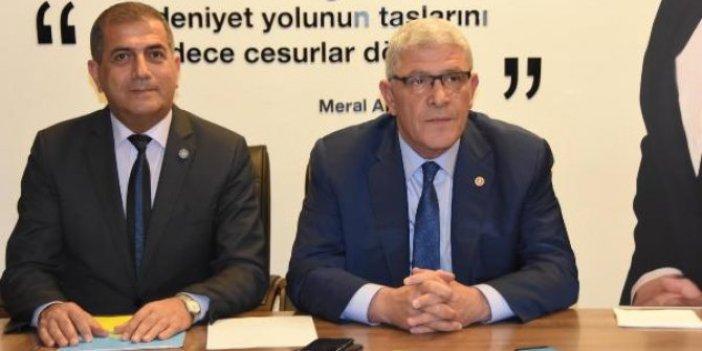 İYİ Partili vekillerden Müsavat Dervişoğlu'na tepki