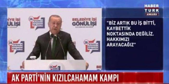 AKP kaynıyor! Erdoğan'dan Parti içi muhalefete sert tepki!