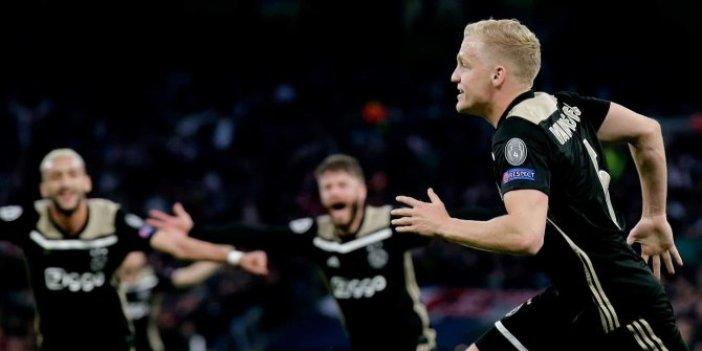 Ajax, Londra'yı fethetti! Tottenham 0-1 Ajax