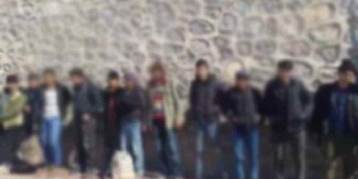 Kırklareli'nde 18 kaçak yakalandı!