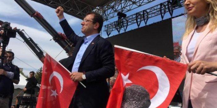 İmamoğlu Bakırköy'deki miting alanında