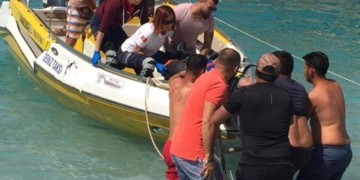 Fethiye'de denize düşen Rus paraşütçü öldü