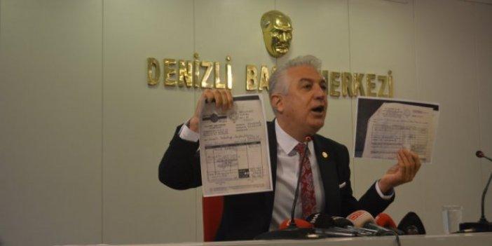 Milletin parası AKP'li vekillerin yemeğine gitmiş!