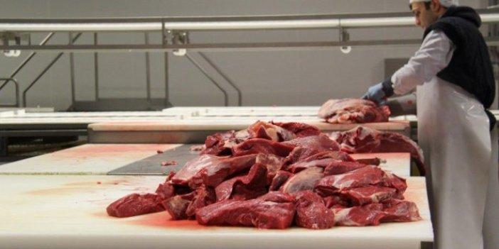 Kırmızı et üretimi azalmaya devam ediyor