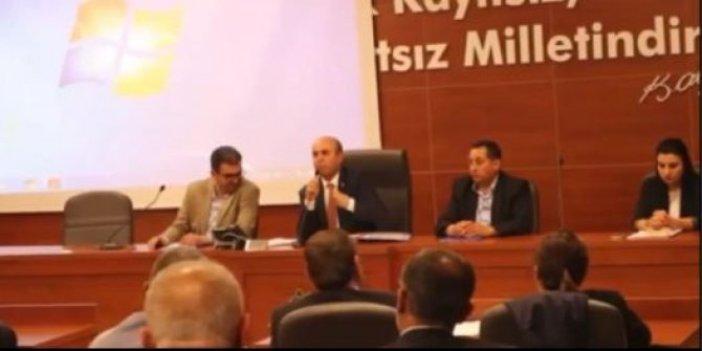 AKP kadın kollarının faturasını belediyeye ödetmişler!