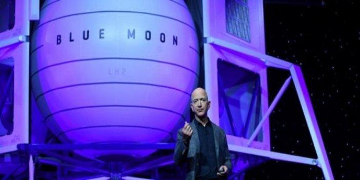 Amazon'un patronu Ay'a uzay aracı gönderecek Kaynak: Amazon'un patronu Ay'a uzay aracı gönderecek