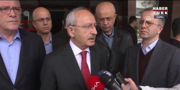 Kemal Kılıçdaroğlu, yazarımız Demirağ'ı ziyaret etti