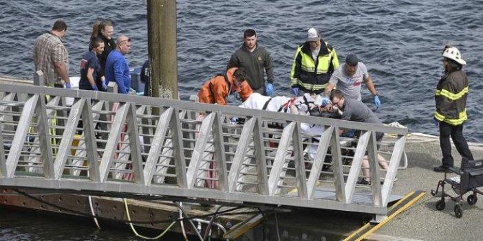 ABD'de iki uçak havada çarpıştı: 5 ölü