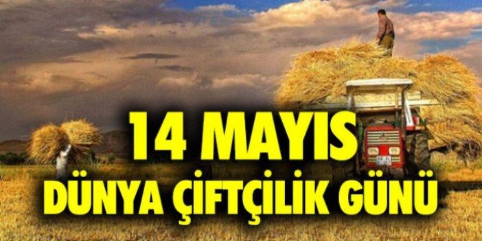 14 Mayıs Dünya Çiftçiler Günü! Çiftçiler günü mesajları…