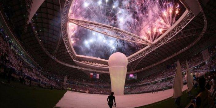 Katar'daki Vekra Stadyumu'na dev açılış