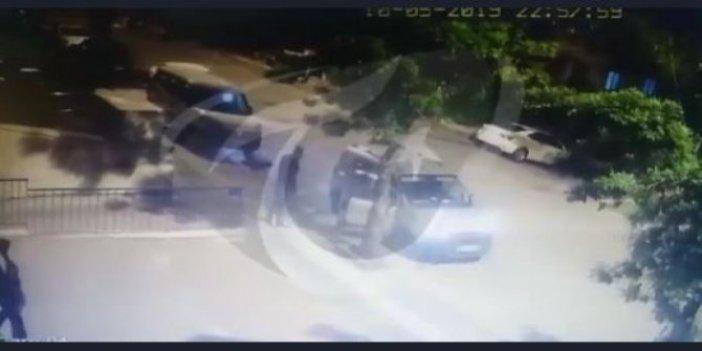 Demirağ'a saldırının görüntüleri ortaya çıktı