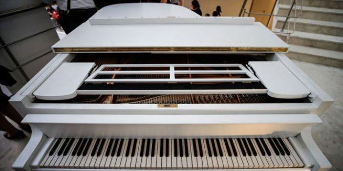 Savarona yatındaki piyano Hacettepe'de